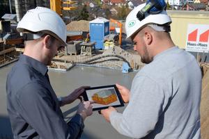 Mit BIM-fähiger Software und mobilen Endgeräten sind 3D-Modelle in Zukunft auch direkt auf der Baustelle verfügbar.