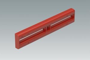Für Längenausgleiche und Stirnabschalungen wird bei Duo der Ausgleichsriegel Duo 62 mit einer maximalen Ausgleichsbreite von 25 cm verwendet.