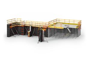 <strong>Duo ist einsetzbar als:</strong><strong>1.Schalung für vertikale Wände / Mauern</strong><br />Die Duo Paneele lassen sich für vertikale Anwendungen bis 5.40 m Höhe einsetzen. Es können Wandstärken von 15 cm bis 40 cm hergestellt werden. Der maximal zulässige Frischbetondruck beträgt dabei 50 kN/m<sup>2</sup>.<strong>2.Deckenschalung/Unterzüge</strong><br />Duo ist als trägerlose Paneel-Deckenschalung für Decken bis 30 cm Stärke einsetzbar. Praxisgerechtes Zubehör für Passbereiche und Deckenränder bietet vielseitige Lösungen im System.<strong>3.Säulen/Stützen</strong><br />Auch rechteckige und quadratische Säulen mit Querschnitten von 15 cm bis 55 cm lassen sich ohne Anker im 5-cm-Raster schalen. Hierbei beträgt der zulässige Frischbetondruck 80 kN/m<sup>2</sup>. Für eine Säulenschalung werden die Mehrzweckpaneele mit Eckverbindern montiert. <strong>4.Fundamente/Sockel</strong><br />Aufgrund der kompakten Formate und der einfachen Handhabung eignet sich Duo ebenfalls zum Schalen von Fundamenten. Dazu können alle Duo Paneele eingesetzt werden.