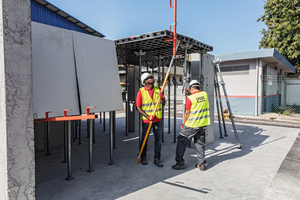 Höchste Mobilität: Schalen wird in Zukunft leichter – auch bei schwierigen Baustellenzugängen, beengten Arbeits-flächen oder straffen Terminplänen