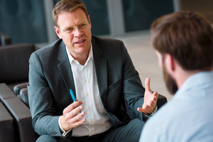 Dietmar Jürges, Vorsitzender der Geschäftsführung der thyssenkrupp Infrastructure GmbH.
