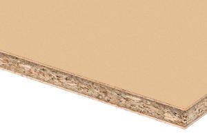 Die Magnoply MF-Spanplatte besitzt eine hohe Rohdichte und niedrige Quellwerte: Sie ist geeignet für fugenarme Oberflächen.