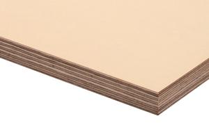 Die Betonplan Top MF kann mit einer sehr guten Biegefestigkeit punkten. Als Furniersperrholzplatte besteht sie aus mehreren, kreuzweise verleimten Schälfurnierschichten. Seit 2013 auch mit Melamin-beschichteter Schalhaut.