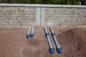 Neben der 1,50 Meter langen Standardvariante des Funke-Baumwurzelbelüfters wurden vor Ort Tiefenbelüfter mit einer Rohrlänge von drei Metern verwendet.