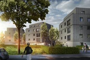 """Das Projekt """"Urbaner Holzbau"""" in Berlin steht für wirtschaftlichen Wohnungsbau mit hochwertiger Architektur."""