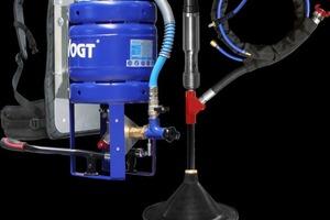 Vogt Geo Injector carry:Bewährtes Einstiegssystem mit manueller Injections Dosierung über Auslösehebel.