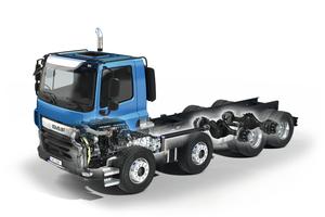 DAF entwickelte ein Aufbau-Fahrgestell, dass sich durch hohe Flexibilität und enorme Universalität auszeichnet.