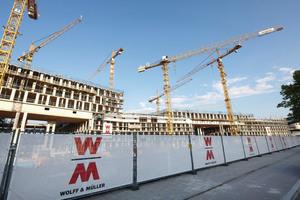 """""""Saubere"""" Baustellen: Wolff & Müller betreibt ein umfangreiches Präventionsprogramm gegen Schwarzarbeit und illegale Beschäftigung bei Nachunternehmen."""