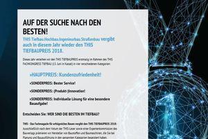 Voten und Gewinnen Sie unter www.this-tiefbaupreis.de<br />