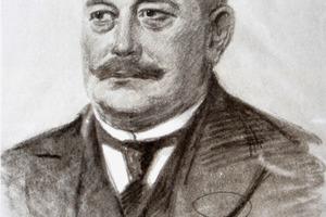 Ein Portrait des Firmengründers Franz Carl Nüdling<br />