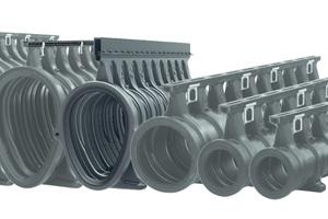 Das System Qmax ist in insgesamt sechs Nennweiten von 150 bis 900 erhältlich.