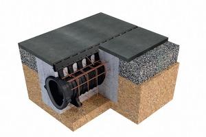 Qmax vereint Entwässerung, Retention und Regenwasserkanal in einem Bauteil.