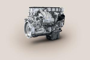 Die Motoren der Baureihe 6R 1500/OM 473 erreichen eine Leistung von bis zu 430 Kilowatt und erfüllen die aktuelle Emissionsrichtlinie EPA Tier 4 final.