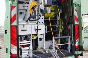 Die Geiger Kanaltechnik hat ihre Sanierungsflotte mit einem modularen TV-Inspektionssystem mit Satellitentechnik und Laser-Kalibrierung zur Untersuchung der Abwasserkanäle aufgestockt.<br />