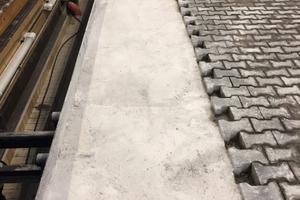 Die Bahnen für die Lkw-Prüfung konnten bereits drei Stunden nach dem Einsatz von Concrete Mix befahren werden.