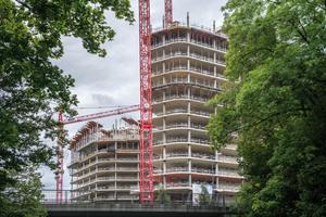 Das Großprojekt Bavaria Towers entsteht mit Schallösungen von Hünnebeck.