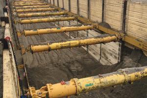 Der letzte Abschnitt wird in offener Bauweise betrieben.