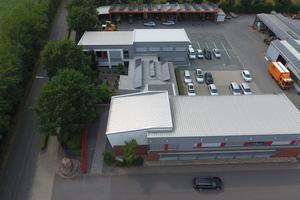 Das Firmengelände des Unternehmens in Stadtlohn.