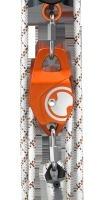 Das Höhensicherungsgerät 'Gordon' ist nach EN 360 zertifiziert und kann – ebenso wie das 'Gordon Rescue' – mit verschiedenen Textilseilen ausgestattet werden.