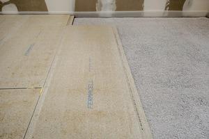 Bei der Aufstockung der Häuser wurde auch Trockenestrich von Fermacell verarbeitet.