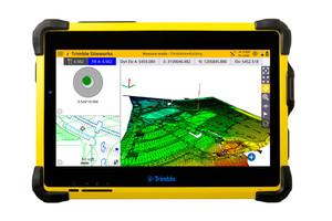 Das leistungsstarke T10 Tablet, perfekt abgestimmt auf den neuen TSC7 Controller und den SPS 986-Satellitenempfänger. Alle laufen mit Windows 10.
