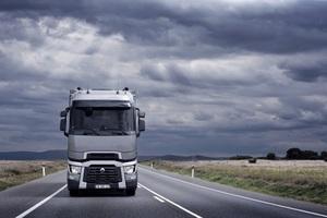 Renault Trucks zeigt insgesamt sieben Fahrzeuge.
