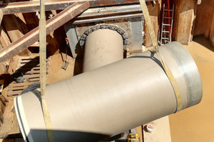 Hobas GFK-Rohre kamen für Vortrieb (Microtunneling) unter Straßenabschnitten zum Einsatz.