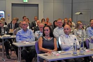 """Die Gäste beim Wettbewerb erhielten von den Experten einige interessante Informationen zum Thema """"Personalrecruiting""""."""