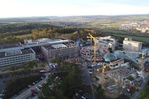 Die Großbaustelle Rhön-Klinikum