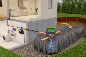Komplettpakete von GRAF enthalten neben Tank, Tankabdeckung und Filtersystem auch alle benötigten Zubehörkomponenten wie beispielsweise schwimmende Ansauggarnitur, Überlaufsiphon und Pumpe.
