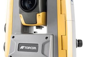 Tempo und Genauigkeit der Totelstation Topcon GT-503M wurden für den Einsatz im Tunnelbau und zur Baustellenüberwachung optimiert.