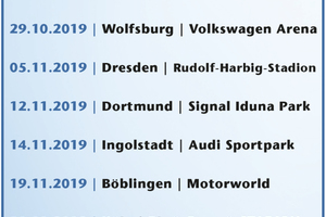In sieben Städten wird die Road-Show präsentiert.<br />