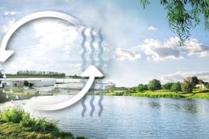 Nicht nur im urbanen Bereich kann ein gesamtheitliches Entwässerungsmanagement das Klima verbessern und die Ressource Wasser schonen.