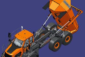 Die neuen knickgelenkten Muldenkipper im Bereich 30 und 40 Tonnen lösen die Modelle DA30-5 und DA40-5 ab.
