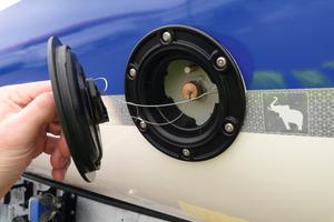 Die Thermomulden verfügen über zwei Messöffnungen pro Seitenwand, die Messungen sicher vom Boden aus ermöglichen.