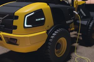 Volovo CE kündigte an, ab dem Jahr 2020 seine Kompaktbagger und kompakten Radlader auf Elektroantrieb umzustellen.