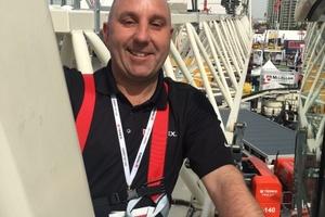 Lee Maynard ist neuer Global Sales Director bei Terex Cranes.<br />