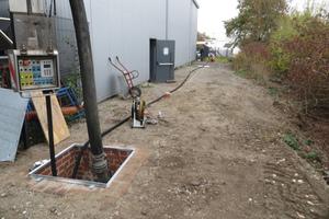 Für die Durchführung der Prüfung wurde eine unterirdische Versuchsstrecke auf dem Gelände von Dommel in Hamm aufgebaut.