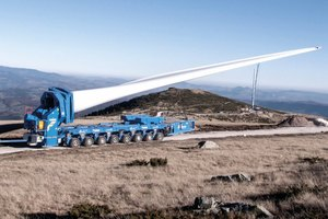 Der Windflügeladapter wurde mit einem verbesserten Nutzlastmoment bis zu 610 Metertonnen ausgestattet.<br />