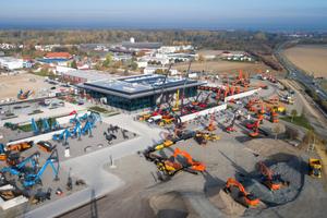 Die Ausstellungsfläche des Coreum ist mit 80.000 qm beeindruckend groß. 2019 wird die Live-Fläche noch um einen 40.000 qm großen Recycling-Park erweitert werden.