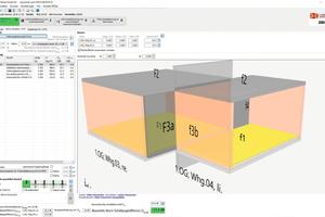 Die neue Version der Ziegel-Bauphysiksoftware Modul Schall 4.0 bietet eine 3-D-Funktion für den Nachweis innerhalb von Gebäuden – Parameter können leichter eingegeben werden.<br />