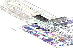 Um ein effektives Modell zu entwickeln, erstellte Copenhagen Airport seine Modelle auf Basis der bestehenden Detaillierungsgrad-Definitionen.