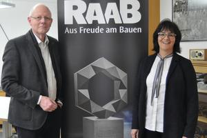 Führen das Unternehmen gemeinsam: Gisela Raab und Wolfgang Schubert-Raab.