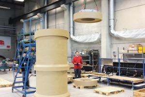 Die komplette Fertigung der ACO Leichtflüssigkeitsabscheider aus Polymerbeton erfolgt im Werk Bürstadt.