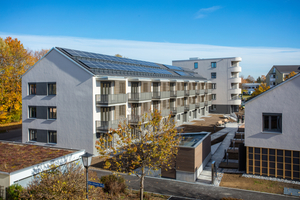 Gegen den Wohnraummangel: Auftraggeber der 35 Wohnungen ist die Gemeinde Neubiberg. Sie hatte beim Bau den Bedarf ihrer Angestellten im Blick.
