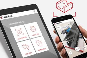 Auf dem Weg weiter Richtung Digitalisierung mit der AR-App.