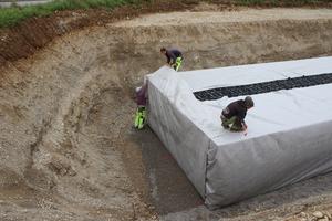 Die Module speichern insgesamt 290.000 Liter Wasser.