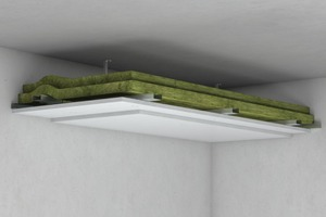 Die Unterdecke weist sowohl bei Brandbeanspruchung der Deckenunterseite als auch bei Beanspruchung aus dem Deckenhohlraum eine Klassifizierung von F90-A auf.