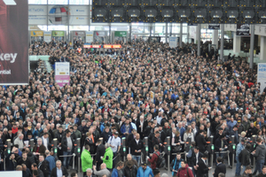 Großer Andrang: Die weltgrößte Messe in München erfuhr einmal mehr ein gewaltiges Besucherinteresse.