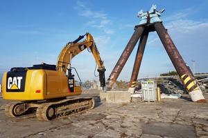 Für Hydraulikbagger von 13 bis 40 Tonnen Einsatzgewicht: Die neuen Hämmer von Caterpillar kommen mit vier neuen Typen.